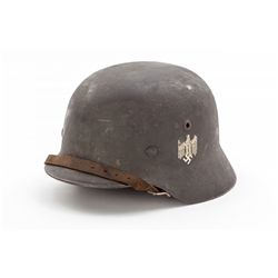 WWII German M35 Re-Issue Single Decal Helmet
