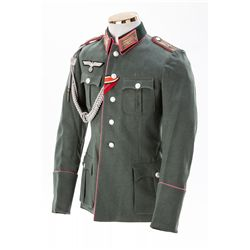 WWII German Panzer Officer's Tunic