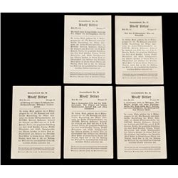 Lot of Fallschirmjager Documents and Charm