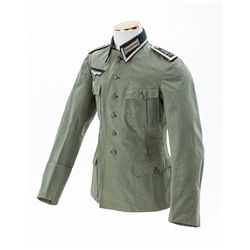 WWII German Army Summer Ltwt. Tunic