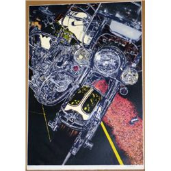 Tom Blackwell, 56 Harley, Signed Lithograph