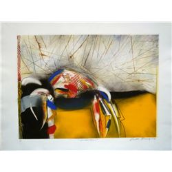 Victor Gomez, Abstractions, Signed Monoprint