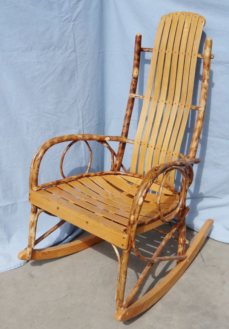 willow rocking chair amish made rh icollector com Early American Antique Rocking Chairs Amish Handmade Rocking Chairs