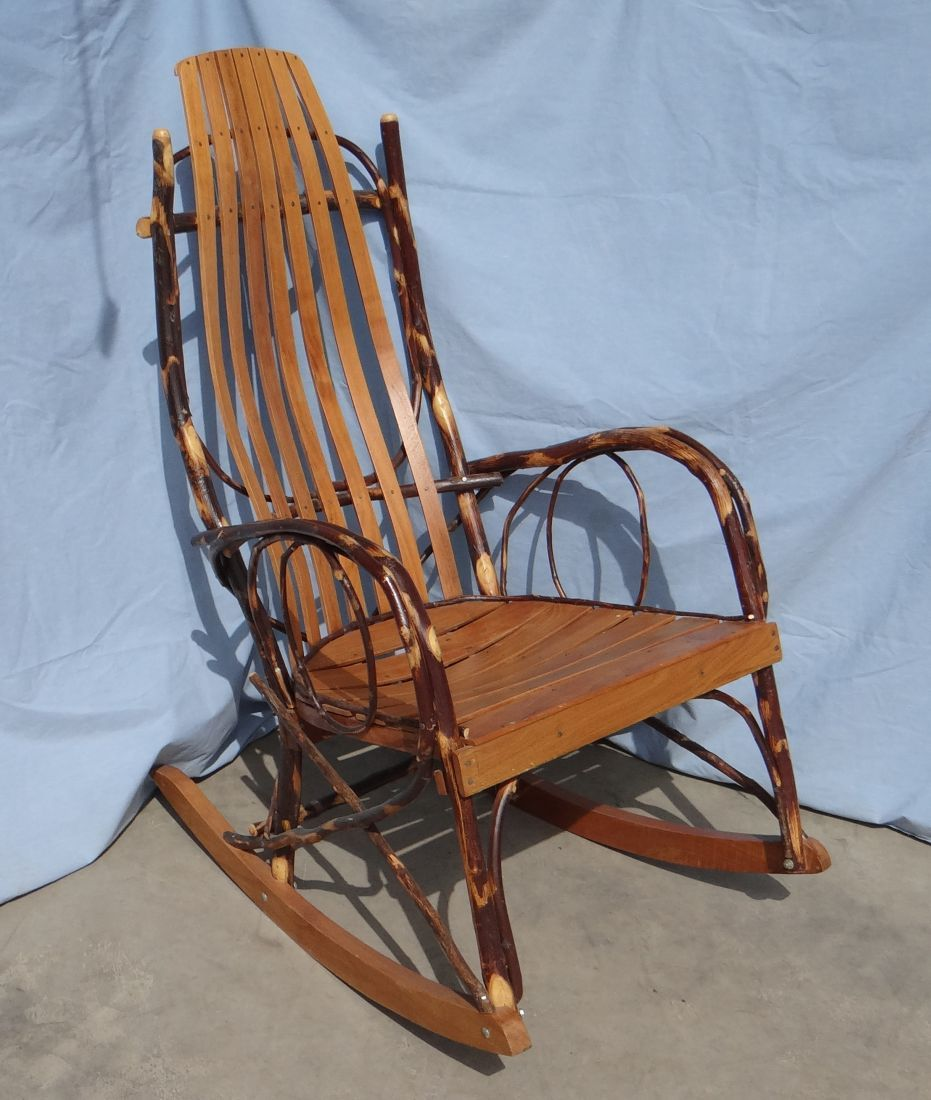 willow rocking chair amish made rh icollector com Amish Outdoor Rocking Chairs Early American Antique Rocking Chairs