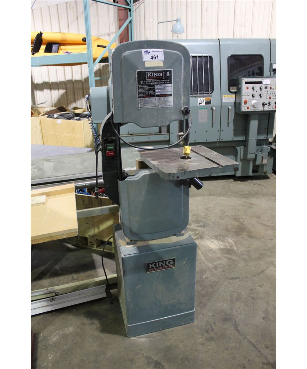 King Industries Wa 1403c 14 Vertical Wood Cutting Band Saw
