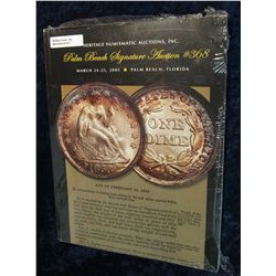 "917. March 24-25, 2005 Color Illustrated Heritage Numismatic Auctions, Inc. Catalog ""Palm Beach Sign"