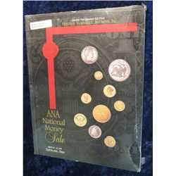 "919. March 20-22, 1997 Color Illustrated Heritage Numismatic Auctions, Inc. Catalog ""ANA National Mo"