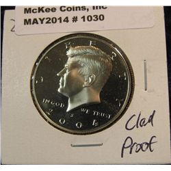 1030. 2004 S Kennedy Half Dollar. Cameo Frosted Proof 65.