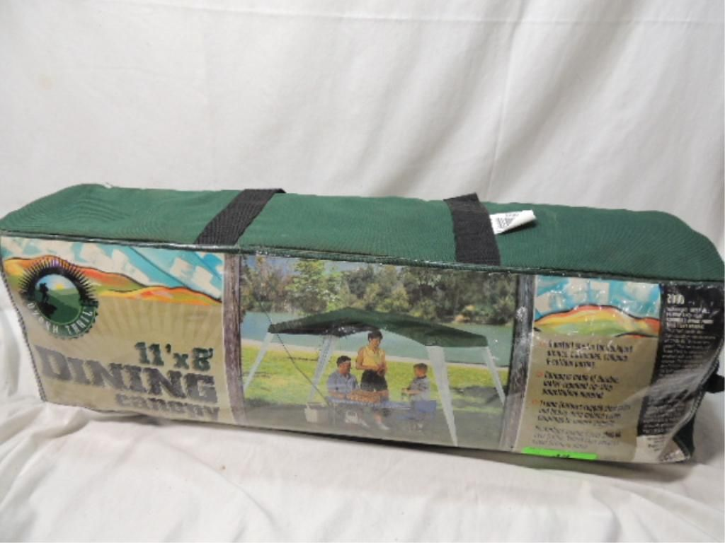 Image 1  11u0027x 8u0027 OZARK TRAIL DINING CANOPY IN CANVAS CASE ... & 11u0027x 8u0027 OZARK TRAIL DINING CANOPY IN CANVAS CASE