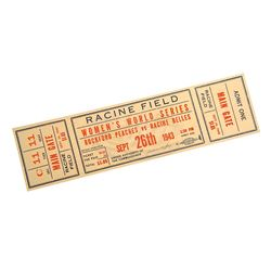 A League of Their Own - Women's World Series Ticket