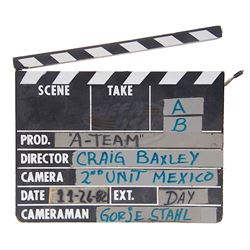 A-Team, The (TV) - Production Used Clapper Board