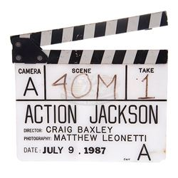 Action Jackson - Production Used Clapper Board