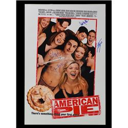 American Pie - Cast Signed One-Sheet Poster