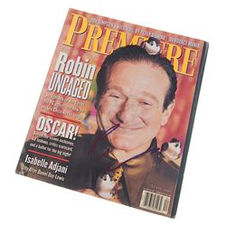 Birdcage, The - Robin Williams Autographed Magazine