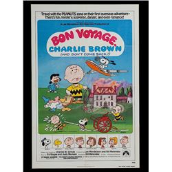 Bon Voyage, Charlie Brown (and Don't Come Back!!) - Original One-sheet Poster