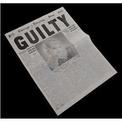 "Chicago - Roxie Hart's ""Guilty"" Verdict Newspaper"