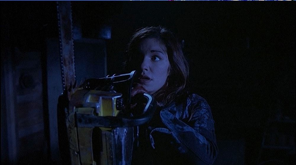 image 7 halloween resurrection bloody chainsaw bianca kajlich - Bianca Kajlich Halloween