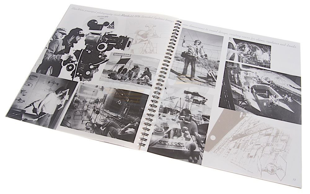 various productions 20th anniversary lucasfilm company yearbook