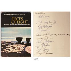 Pieces of Eight, by Kip Wagner, 1st edition (1966), signed by all 10 Real Eight Company members and