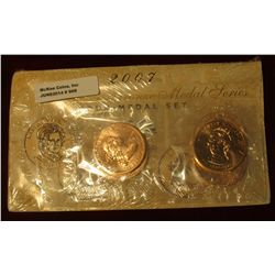 909. 2007 First Spouse Bronze Medal Set: This Four-medal Set Includes One Each Of The 1-5/16-inch.
