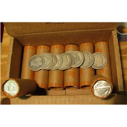 912. $85.50 face value in Statehood Quarters in Bank-wrapped rolls & (2) 1897P, 99S, 1904P, 07S, 08D