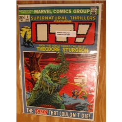 "1067. Rare # 1 Comic. ""IT!"" ""The Thing That Couldn't Die"". Superb Mint Condition. Catalogs $45.00."