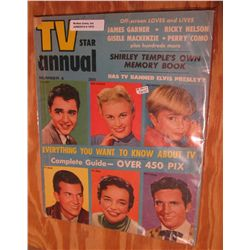"1075. Early ""TV Star Annual"" Number 4. Stories of Pat Boone, Jill Corey, Joan Caulfield, and more. 1"