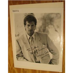 "1125. 8"" x 10"" Autographed Photo of Lorenzo Lamas. Lorenzo Lamas-Craig (born January 20, 1958) is an"