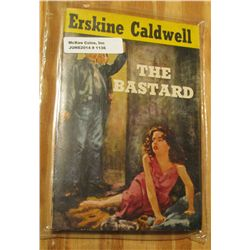 "1136. Original 25c Pocket Book ""The Bastard"" by Erskine Caldwell. Risque cover art."