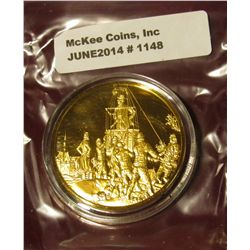 "1148. ""Peninsular Campaign March-July 1862"". Sterling Silver, 24K Gold electroplating."