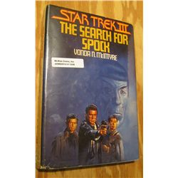 """1248. """"Star Tek III The Search for Spock"""", by Vonda N. McIntyre. Complete with dust cover."""