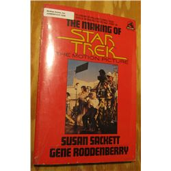 """1249. """"The Making of Star Trek The Motion Picture"""", by Susan Sackett and Gene Roddenberry. 1980."""