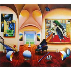 Ferjo, Masters Musical Beginnings, Signed Canvas Giclee