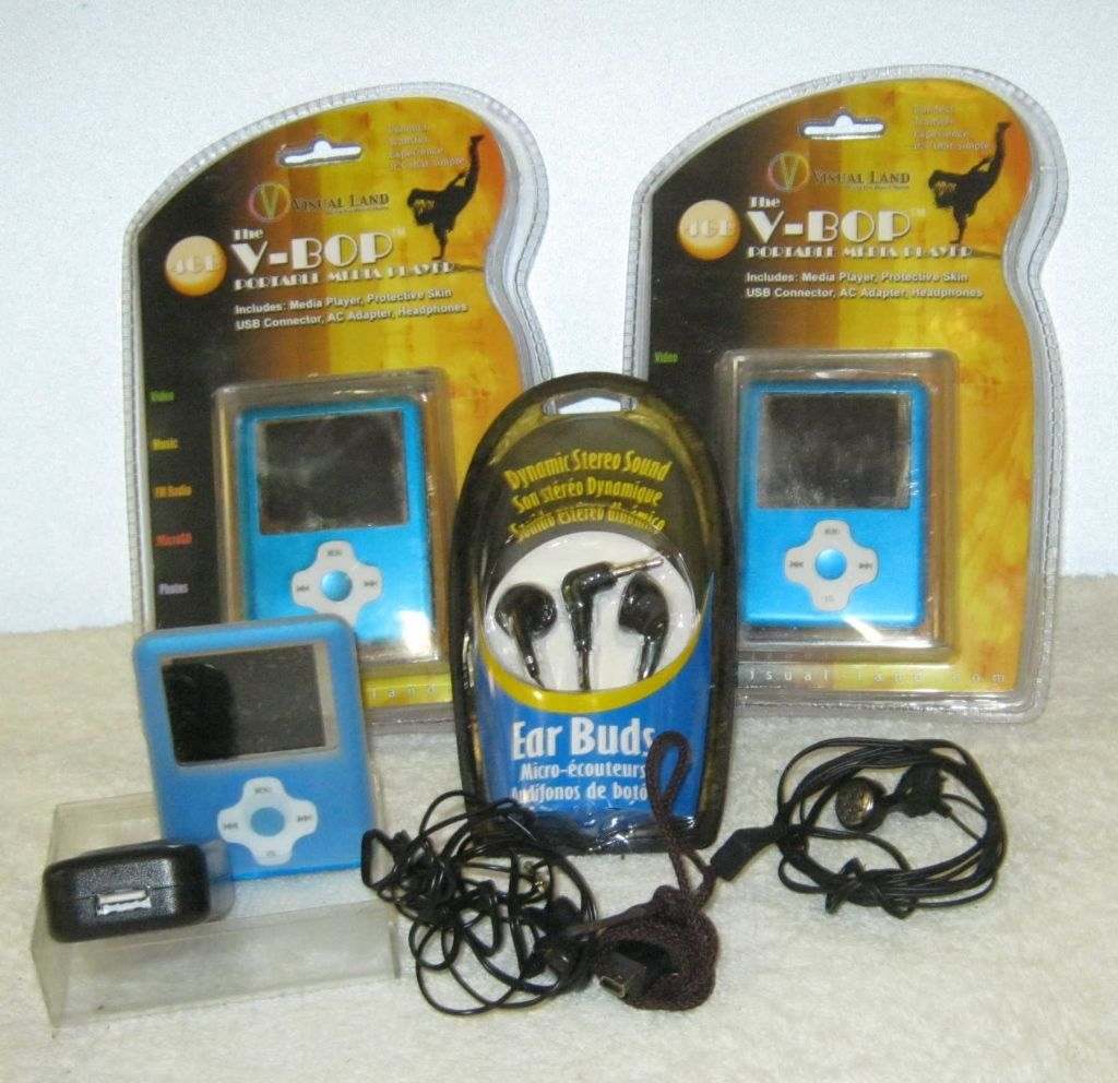 Image 1 V Bob Portable Media Player 2 New In Package