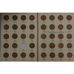 ½ Penny Collection, 1911 to 1964, (no 1923) Above average set