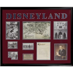 Original 1955 Walt Disney Letter of Gratitude to Mayor of Anaheim Regarding Opening of Disneyland