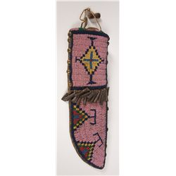 Northern Beaded Plains Knife Sheath