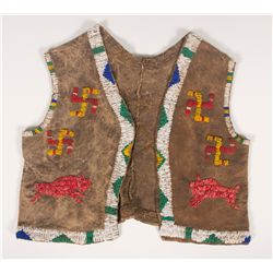 Sioux Beaded Child's Vest