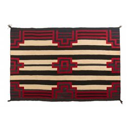 "Navajo Chief's Blanket, 5'9"" x 3'10"""