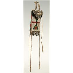 Arapaho Beaded Strike-a-Lite Bag