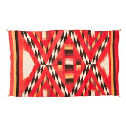 "Navajo Child's Wearing Blanket, 4'6"" x 2'8"""