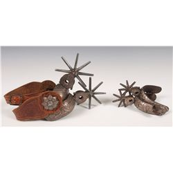 Two Pairs of Mexican Spurs
