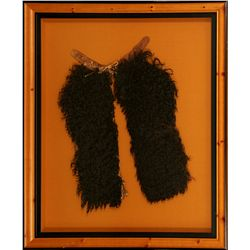 Framed Child's Woolly Chaps