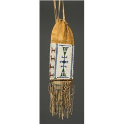 Cheyenne Indian Society Beaded Pipebag