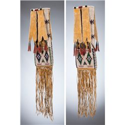 Cheyenne Beaded Tab Bag