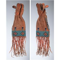 Blackfeet Beaded Paint Bag