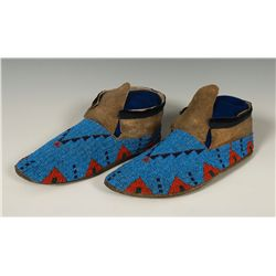 Northern Beaded Plains Moccasins