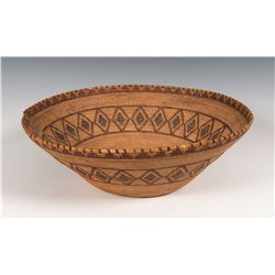 Yokuts Basketry Bowl