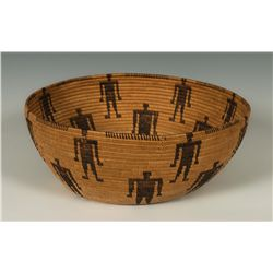 Panamint Basketry Bowl
