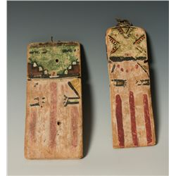 Two Hopi Cradle Kachinas